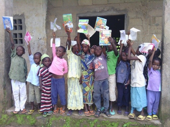 Educational support to children in kimbi